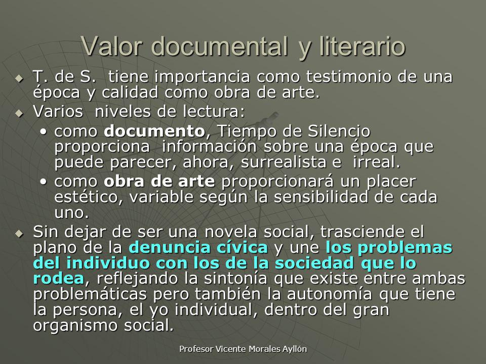 Valor documental y literario