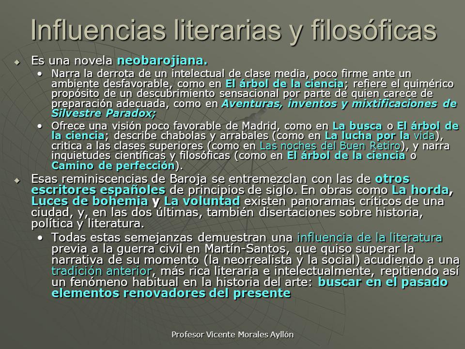 Influencias literarias y filosóficas