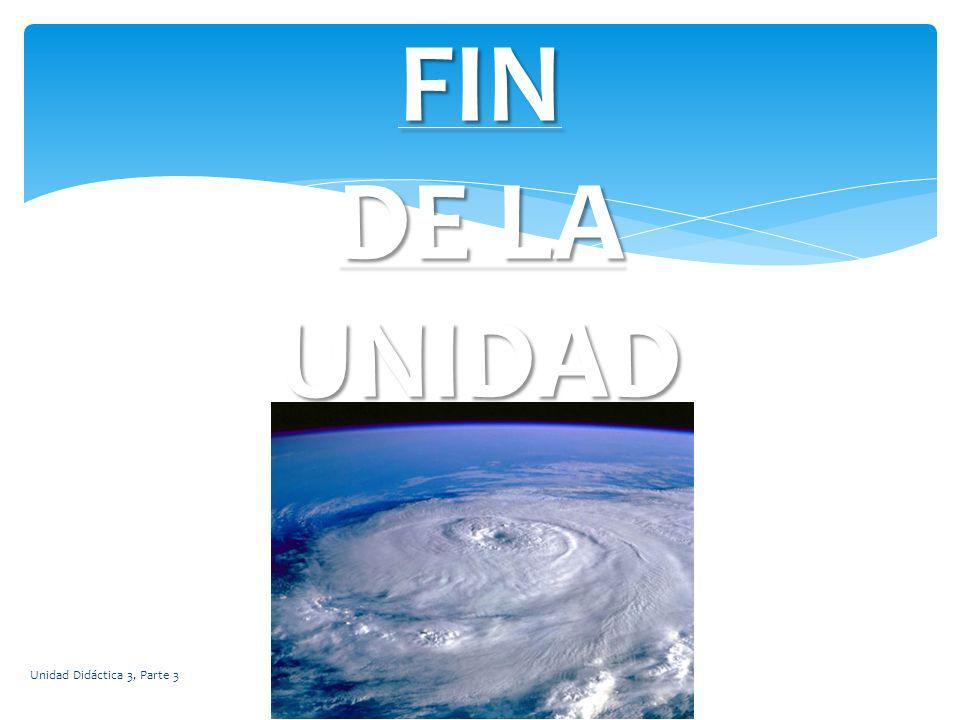 FIN DE LA UNIDAD Unidad Didáctica 3, Parte 3