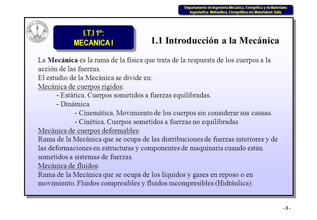 1.1 Introducción a la Mecánica