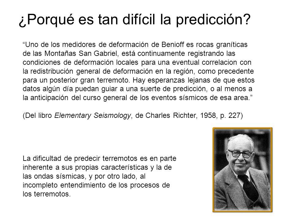 ¿Porqué es tan difícil la predicción