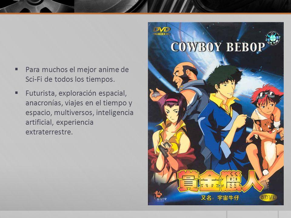 Para muchos el mejor anime de Sci-Fi de todos los tiempos.