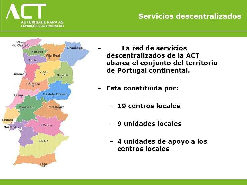 Servicios descentralizados