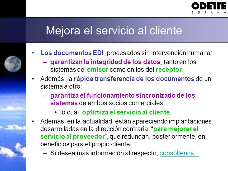 Mejora el servicio al cliente
