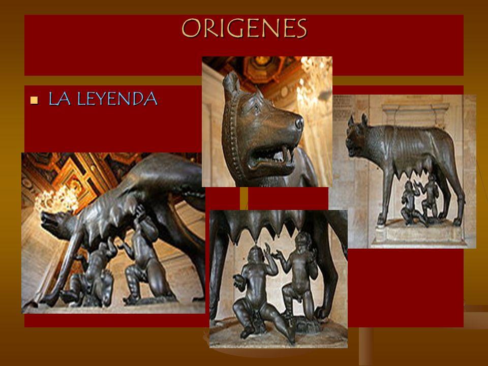 ORIGENES LA LEYENDA
