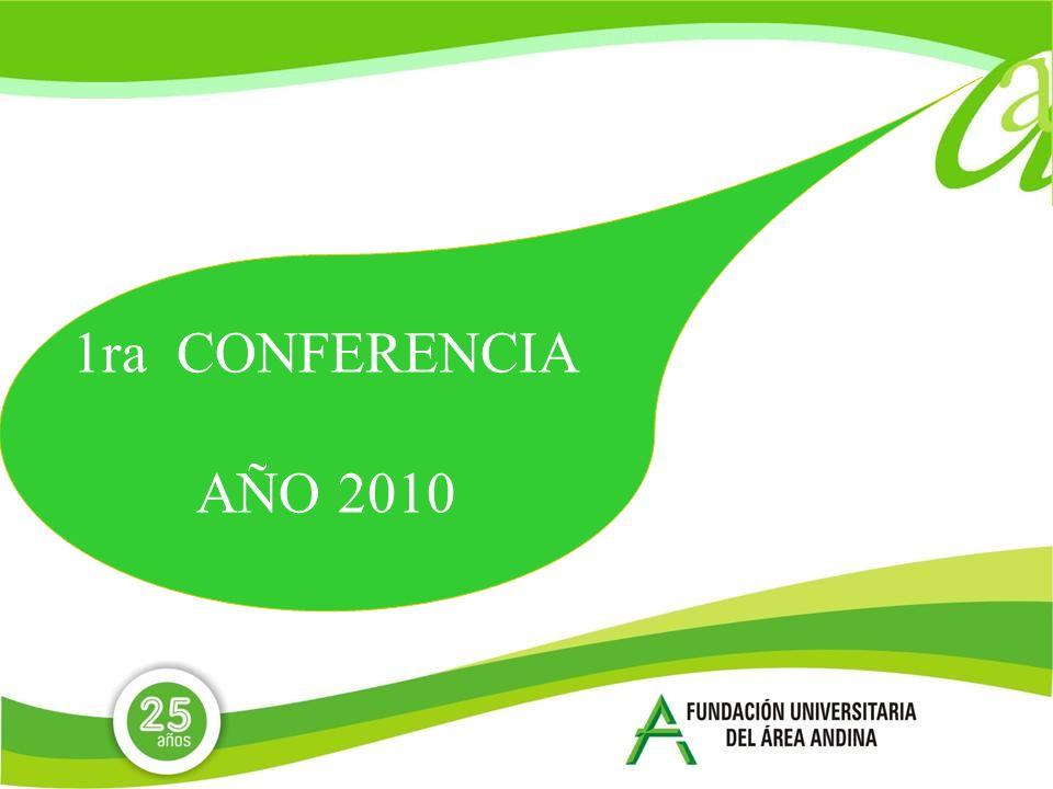 1ra CONFERENCIA AÑO 2010