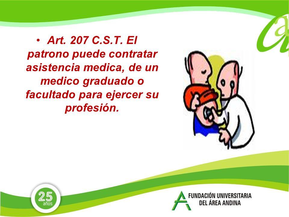 Art. 207 C.S.T.
