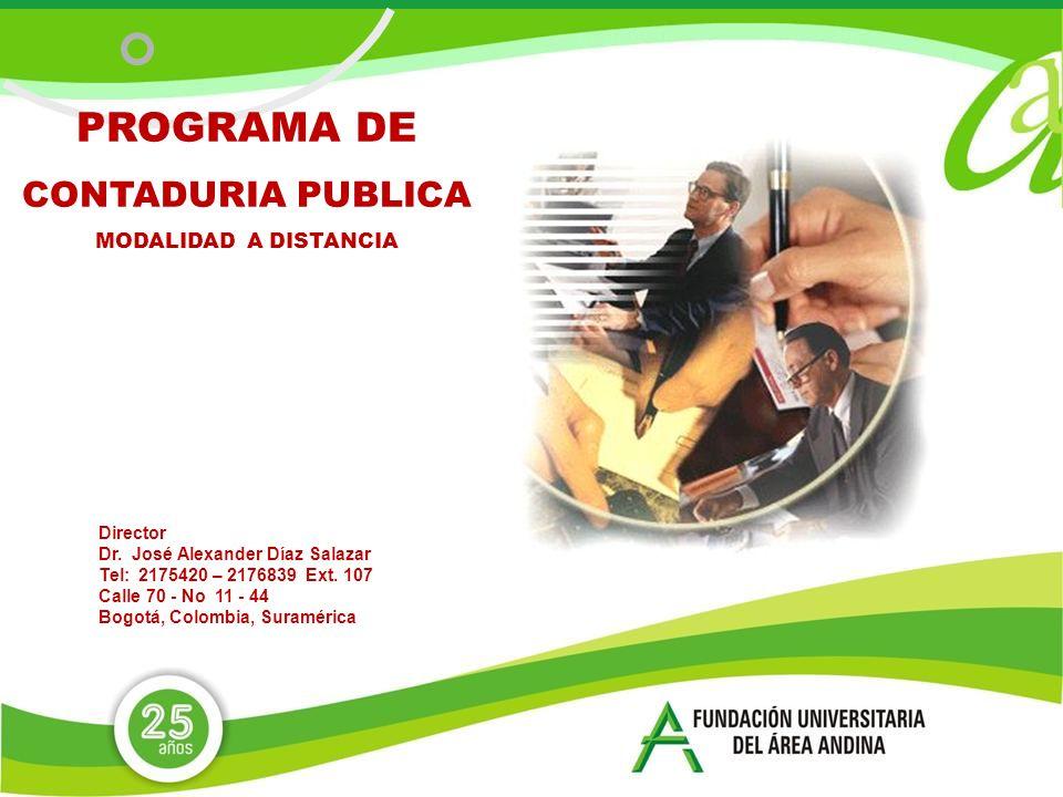 PROGRAMA DE CONTADURIA PUBLICA MODALIDAD A DISTANCIA Director
