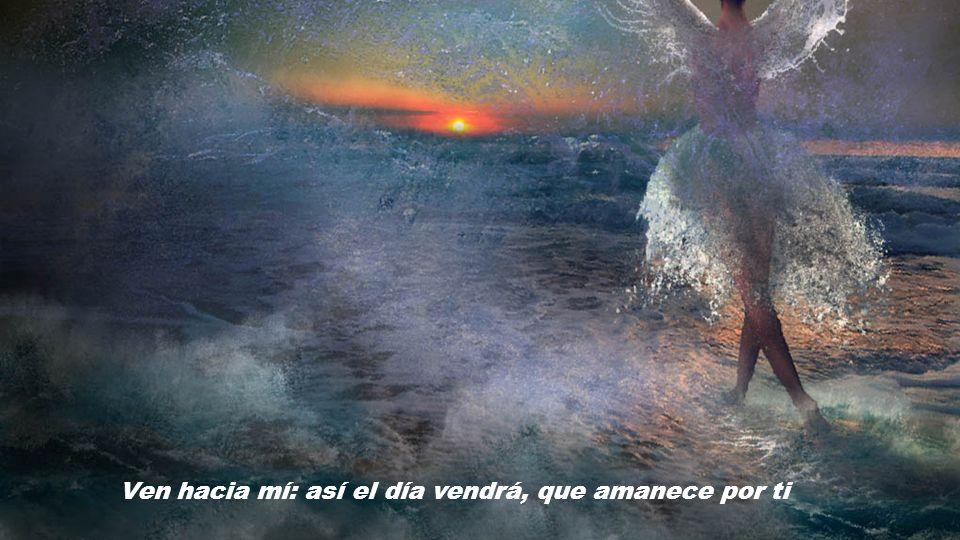 Ven hacia mí: así el día vendrá, que amanece por ti