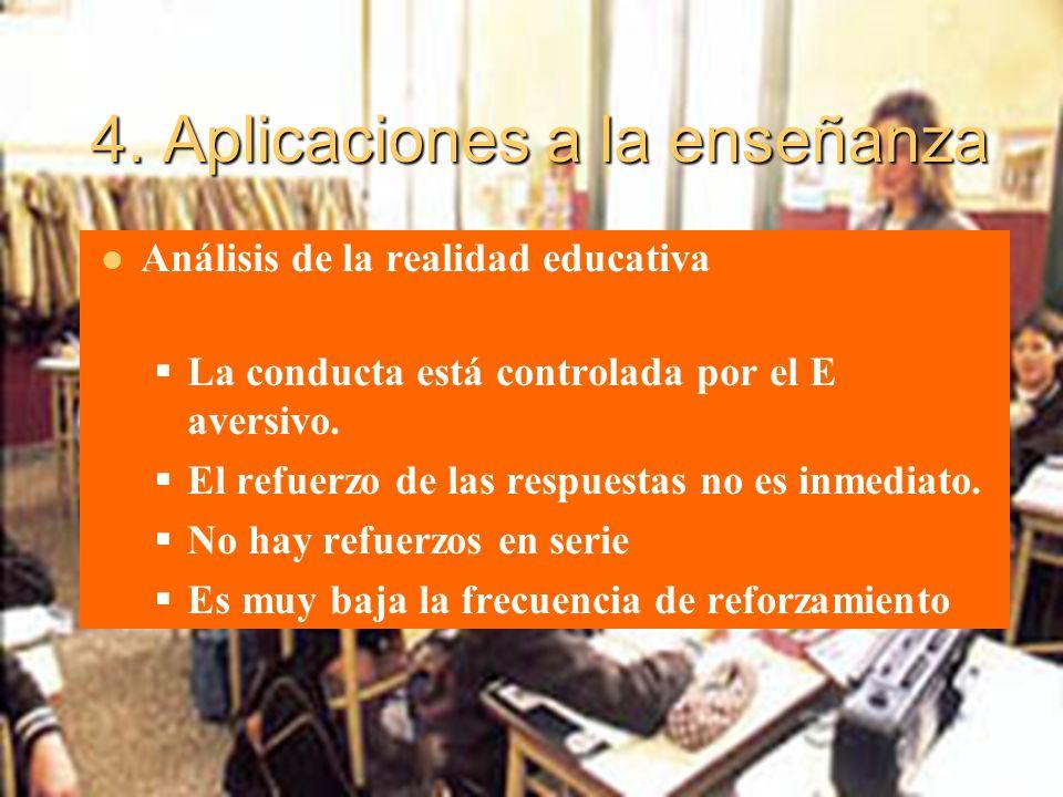 4. Aplicaciones a la enseñanza