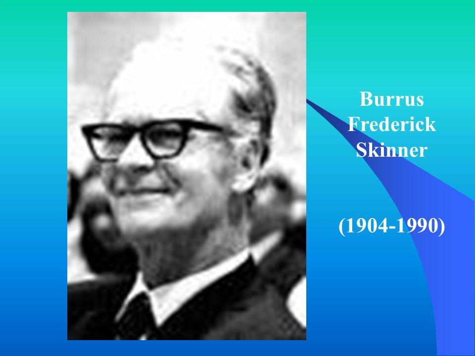 Burrus Frederick Skinner