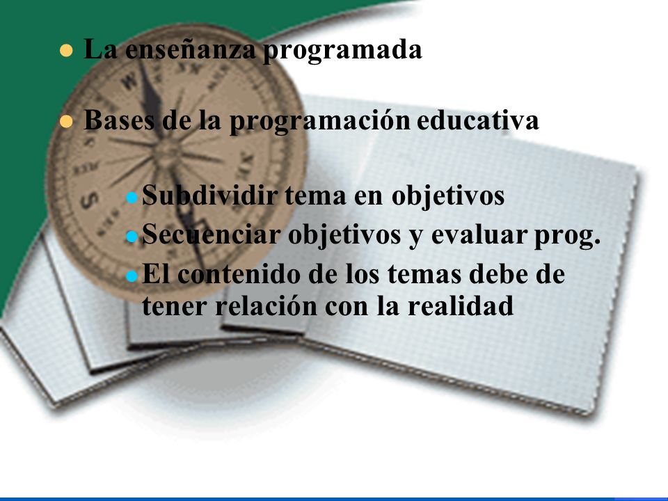 La enseñanza programada