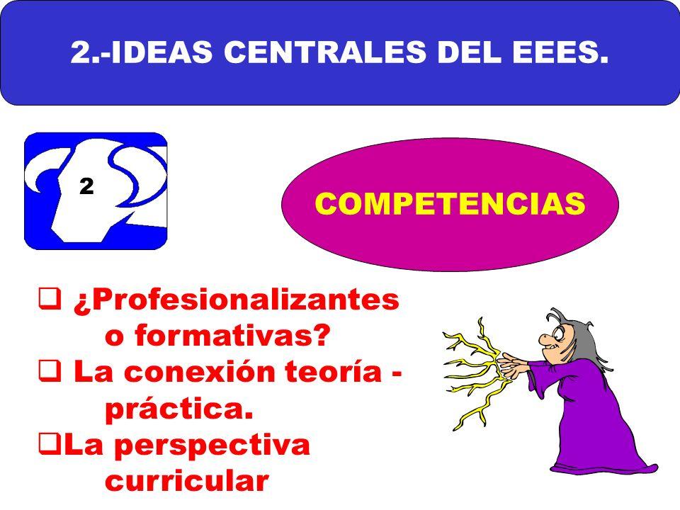 2.-IDEAS CENTRALES DEL EEES.