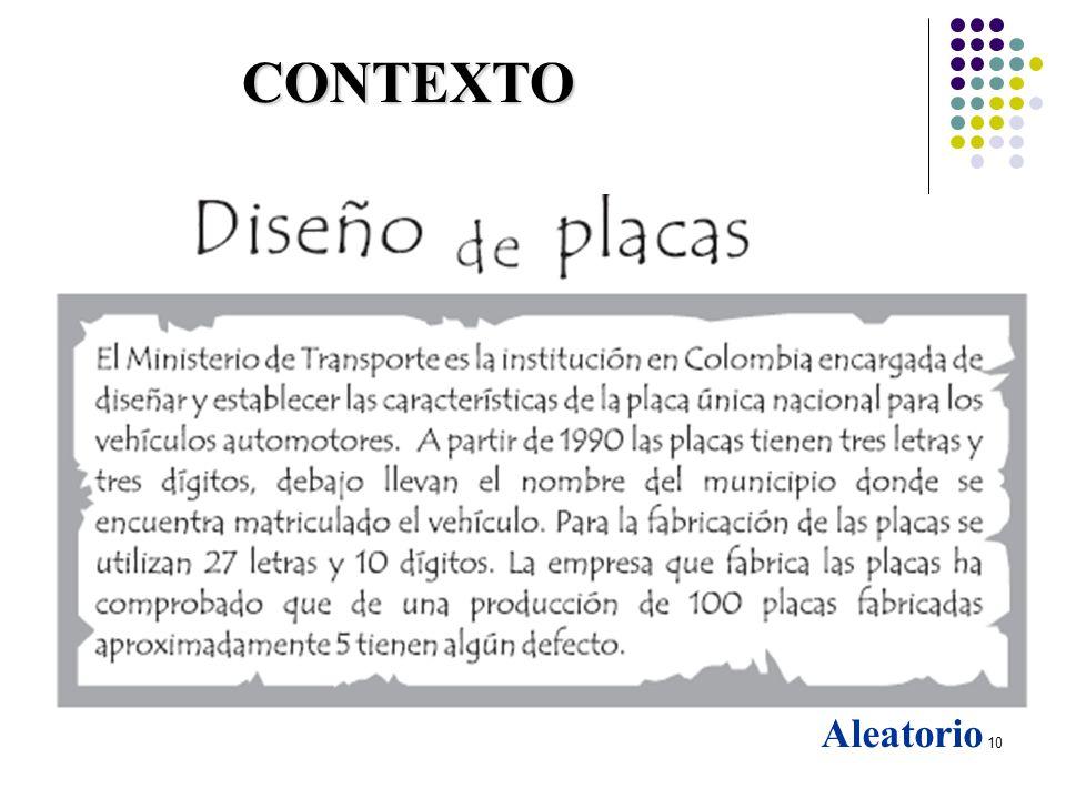 29/03/2017 CONTEXTO Aleatorio