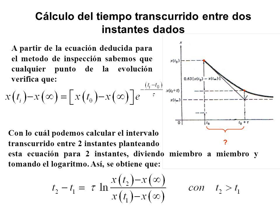 Cálculo del tiempo transcurrido entre dos instantes dados