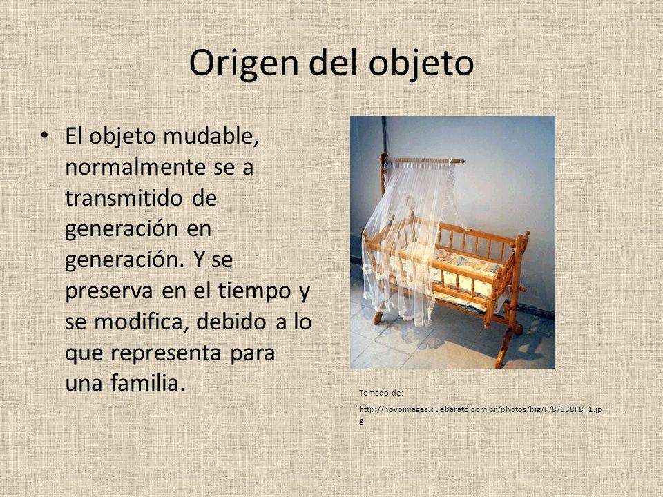 Origen del objeto