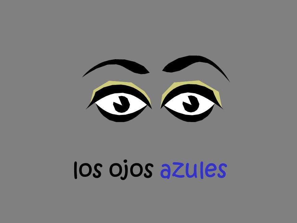 los ojos azules