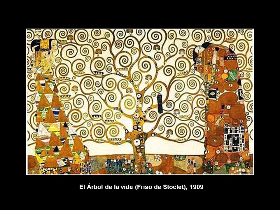El Árbol de la vida (Friso de Stoclet), 1909