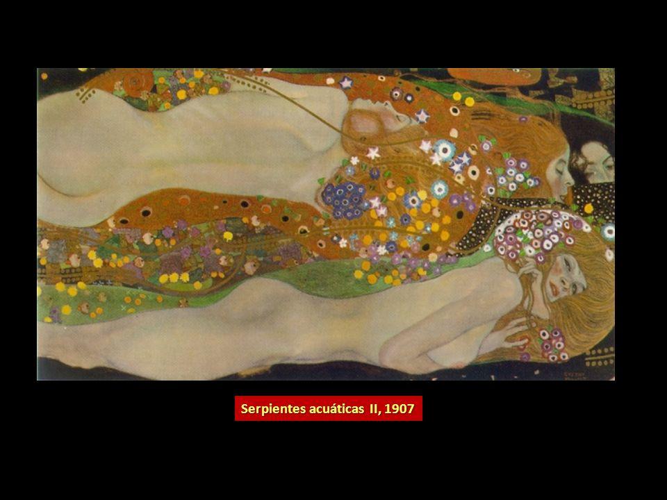 Serpientes acuáticas II, 1907