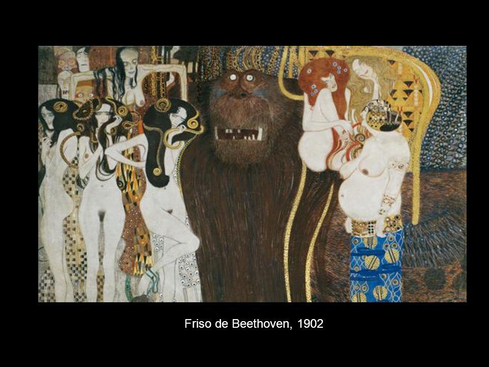 Friso de Beethoven, 1902