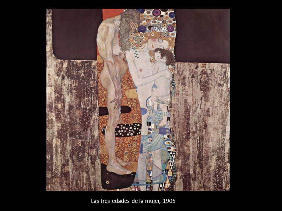 Las tres edades de la mujer, 1905