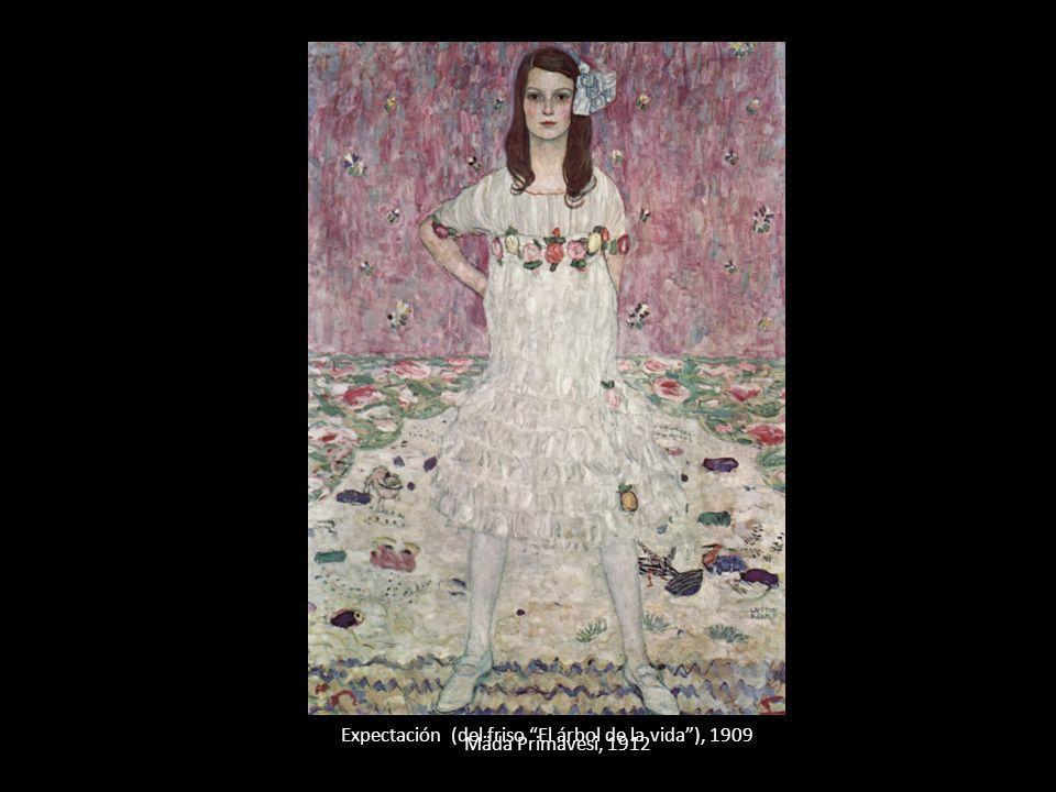 Expectación (del friso El árbol de la vida ), 1909