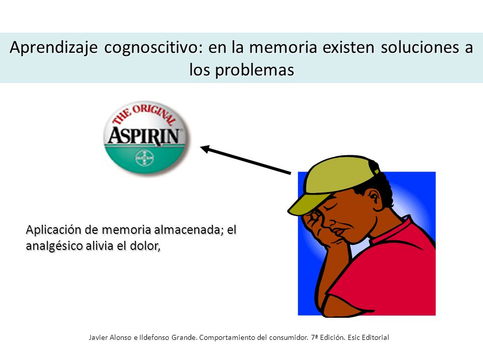 Aprendizaje cognoscitivo: en la memoria existen soluciones a los problemas