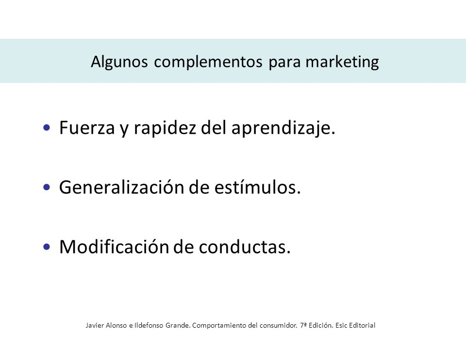 Algunos complementos para marketing