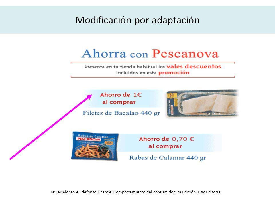 Modificación por adaptación