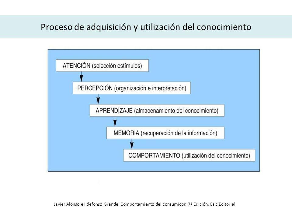 Proceso de adquisición y utilización del conocimiento