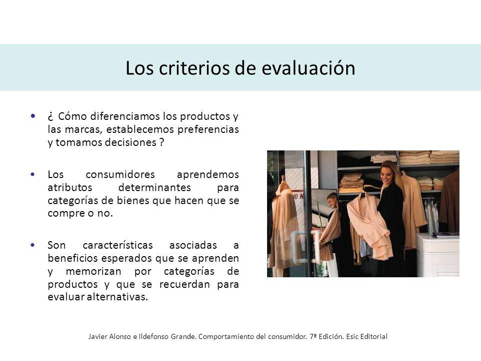 Los criterios de evaluación