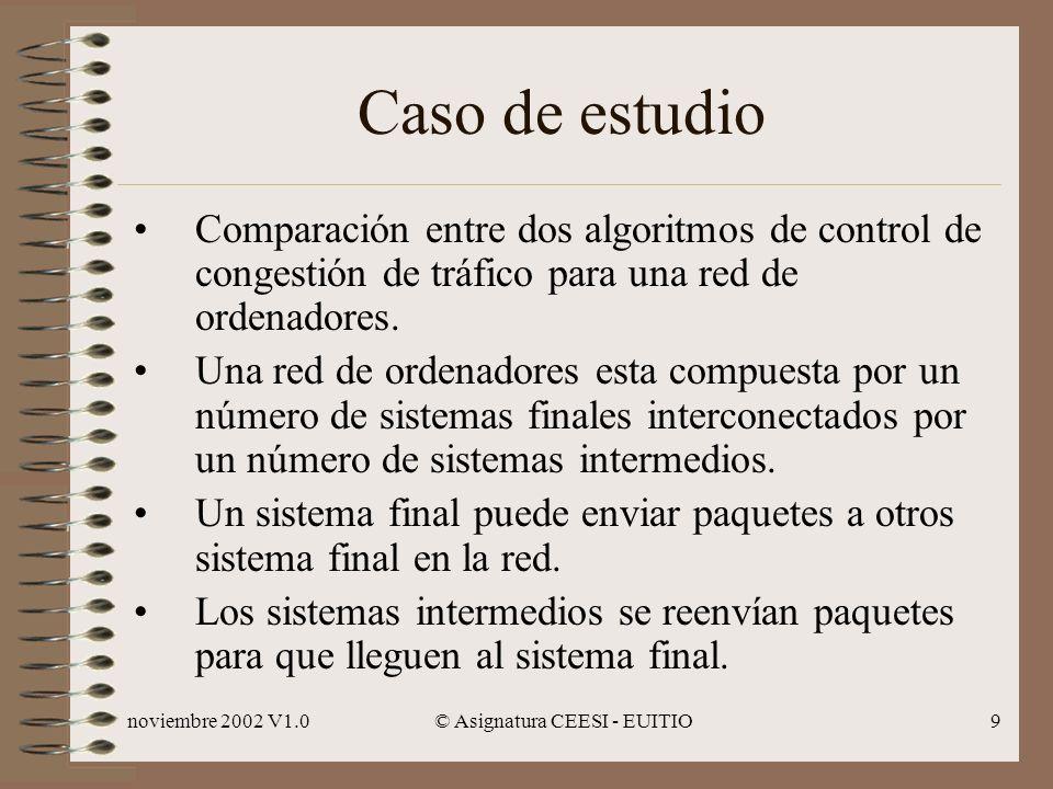 © Asignatura CEESI - EUITIO
