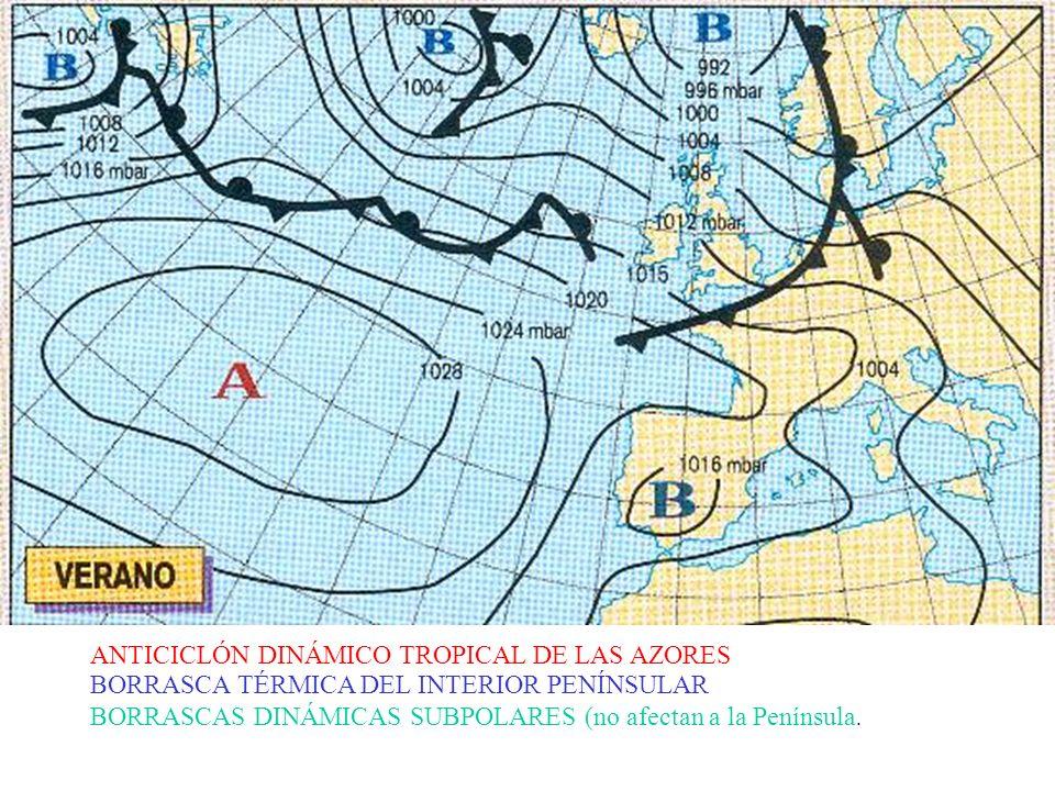 ANTICICLÓN DINÁMICO TROPICAL DE LAS AZORES