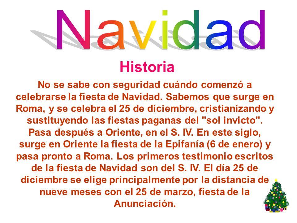 Navidad Historia.