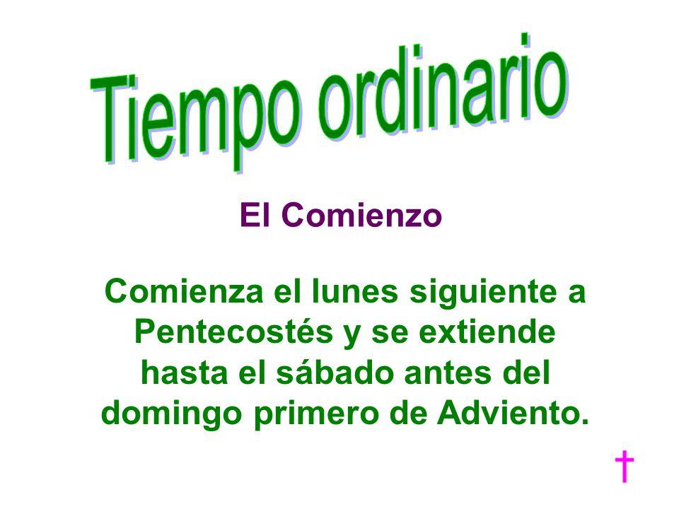 Tiempo ordinario El Comienzo.