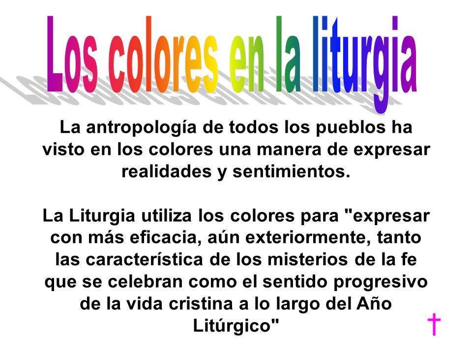Los colores en la liturgia