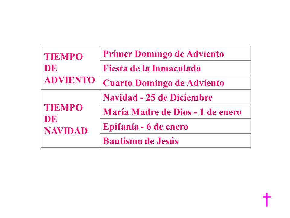 Primer Domingo de Adviento Fiesta de la Inmaculada