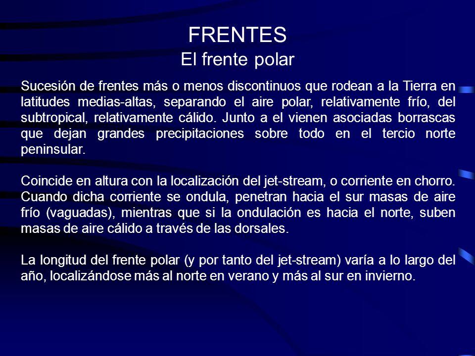 FRENTES El frente polar
