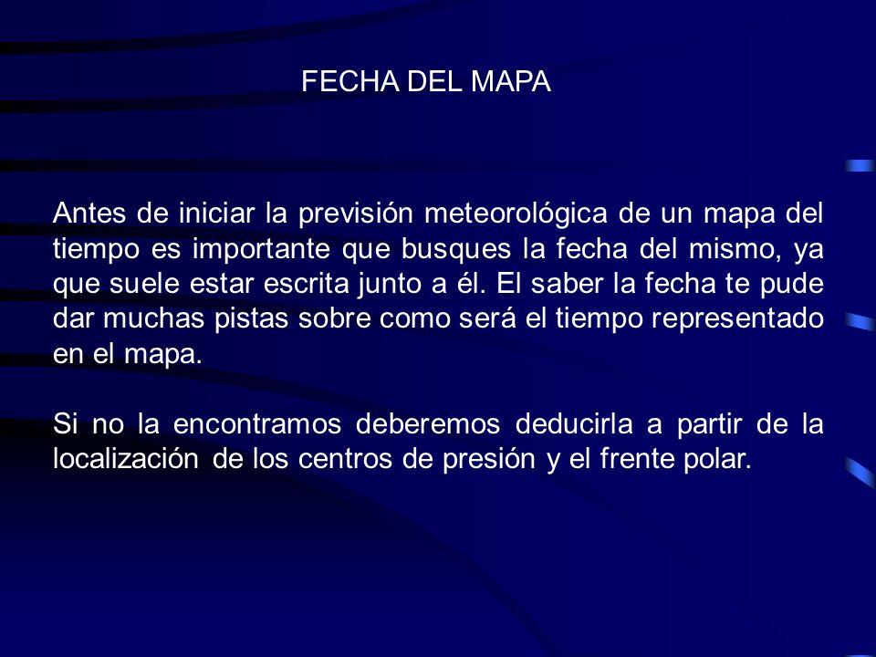 FECHA DEL MAPA
