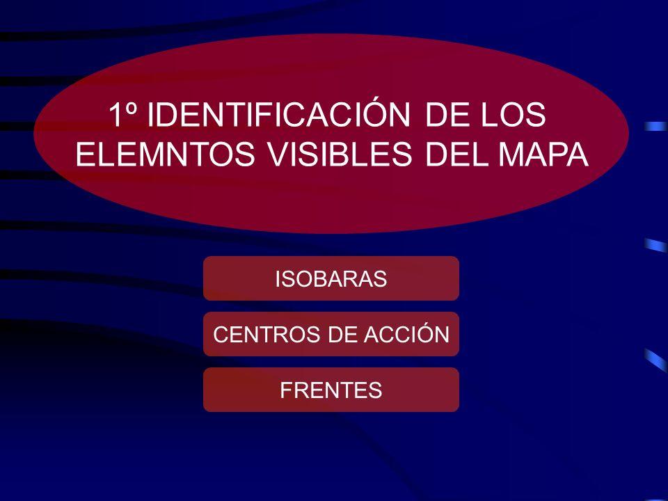 1º IDENTIFICACIÓN DE LOS ELEMNTOS VISIBLES DEL MAPA