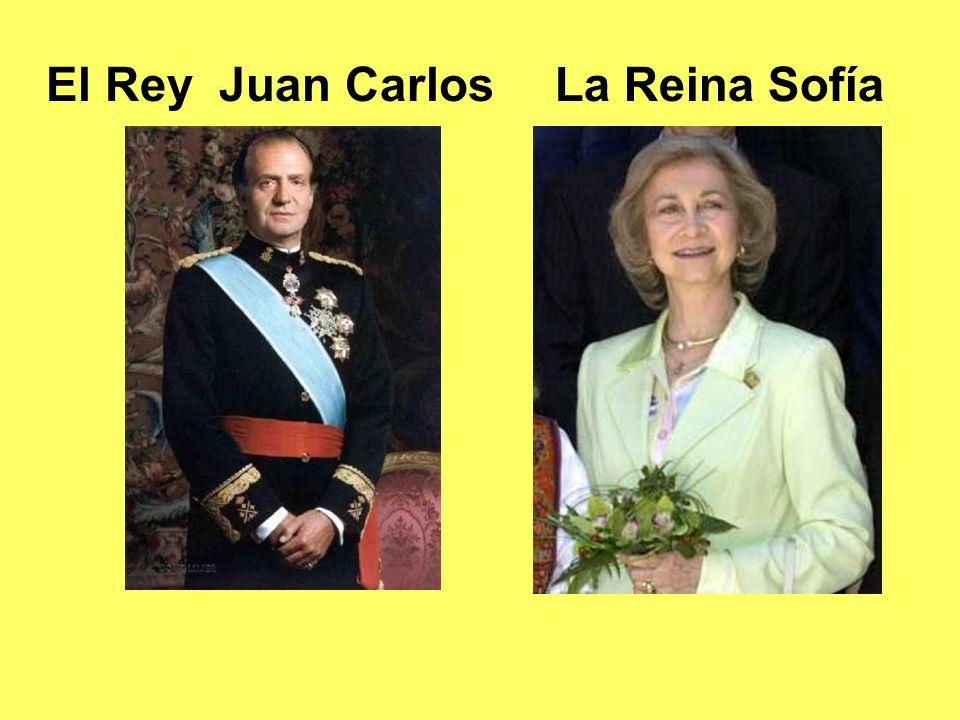 El Rey Juan Carlos La Reina Sofía