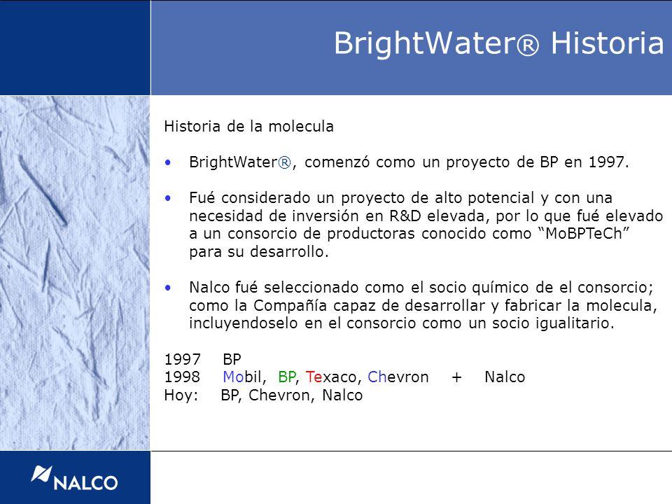 BrightWater® Historia