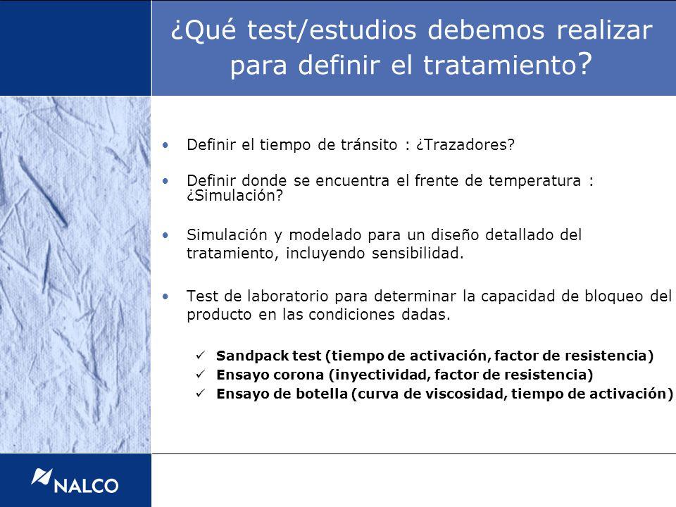 ¿Qué test/estudios debemos realizar para definir el tratamiento