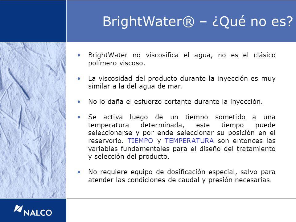 BrightWater® – ¿Qué no es