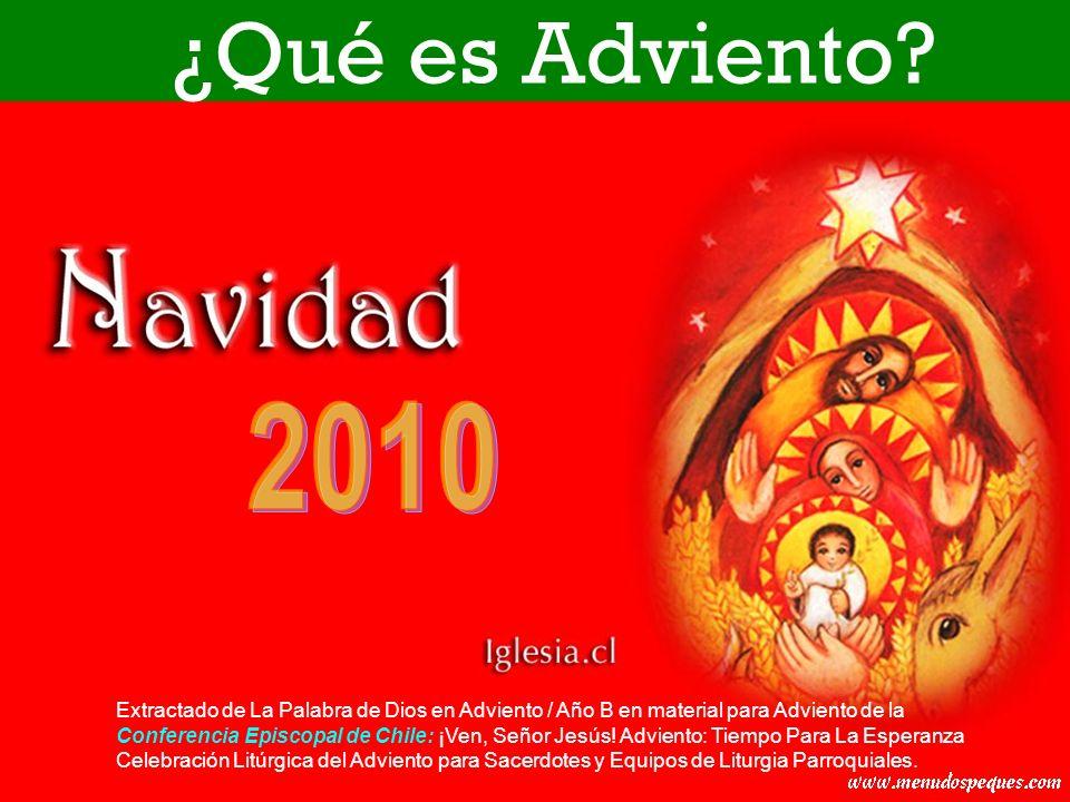 ¿Qué es Adviento 2010.