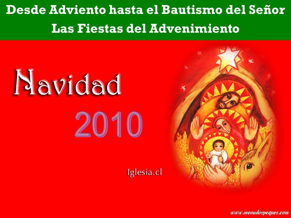 2010 Desde Adviento hasta el Bautismo del Señor