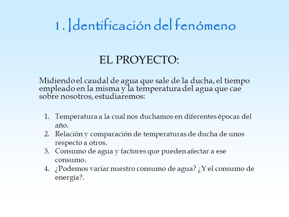 1. Identificación del fenómeno
