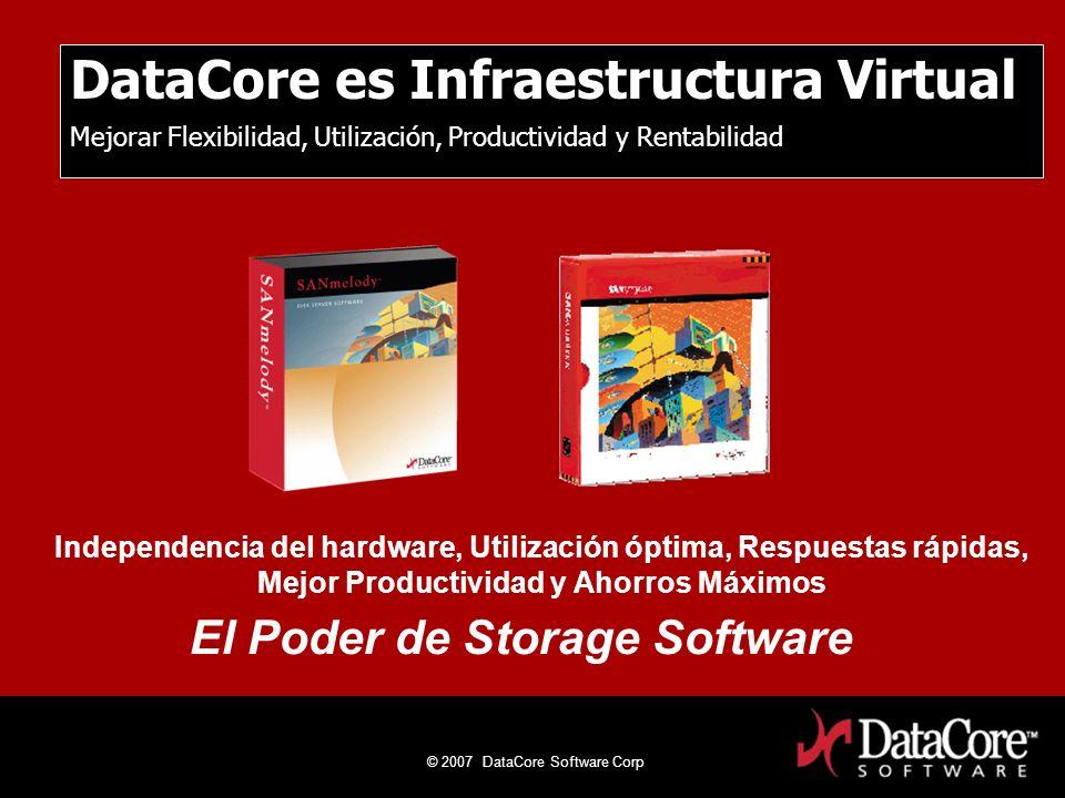 DataCore es Infraestructura Virtual