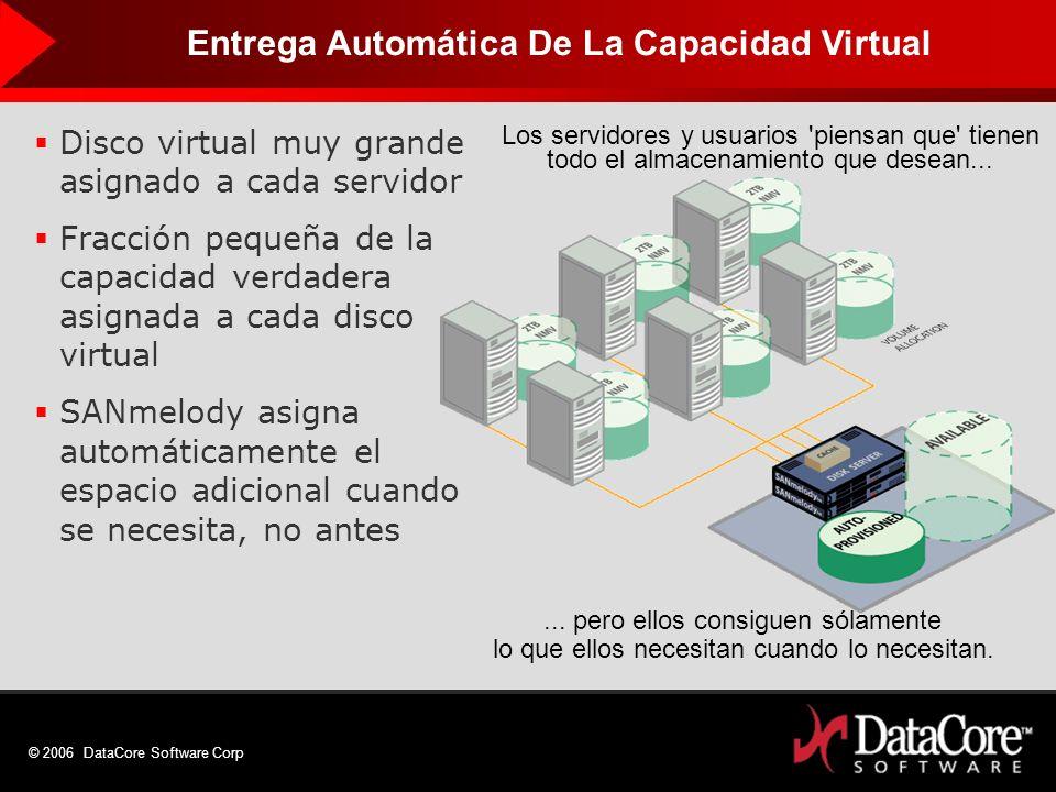 Entrega Automática De La Capacidad Virtual