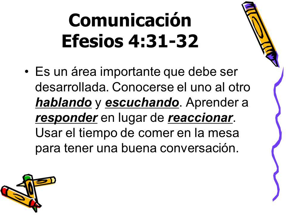 Comunicación Efesios 4:31-32
